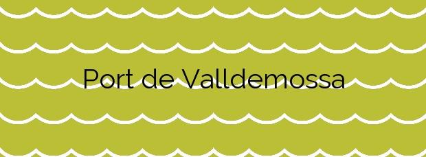 Información de la Playa Port de Valldemossa en Valldemossa