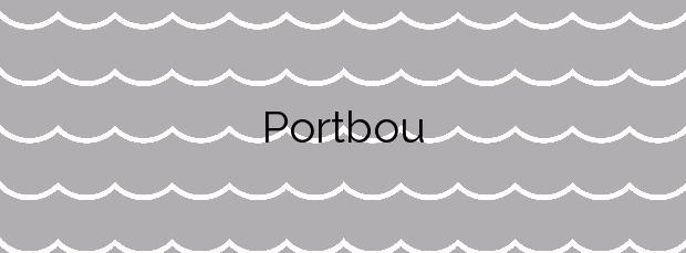 Información de la Playa Portbou en Portbou