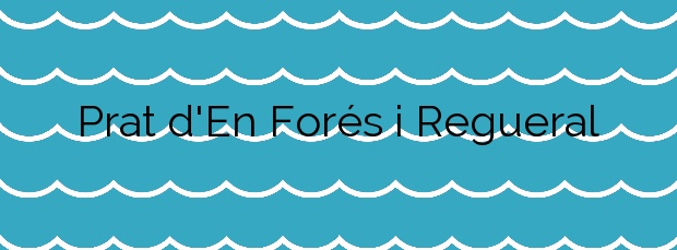 Información de la Playa Prat d'En Forés i Regueral en Cambrils