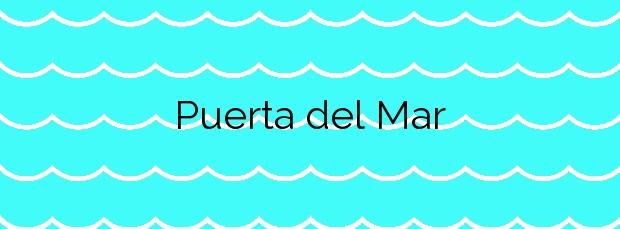 Información de la Playa Puerta del Mar en Almuñécar