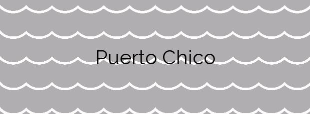 Información de la Playa Puerto Chico en Llanes