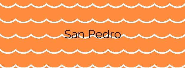 Información de la Playa San Pedro en Sada