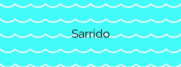 Información de la Playa Sarrido en Foz