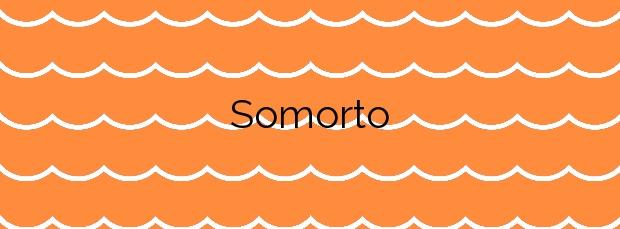 Información de la Playa Somorto en Muros