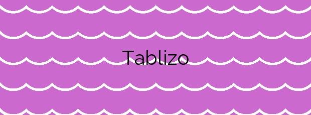 Información de la Playa Tablizo en Valdés