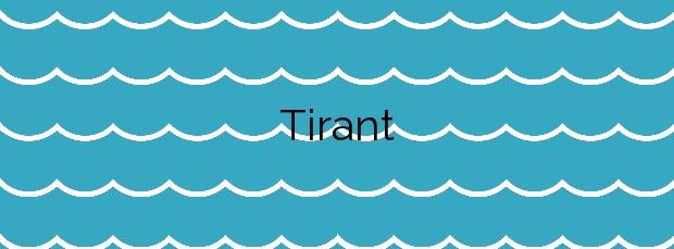 Información de la Playa Tirant en Es Mercadal