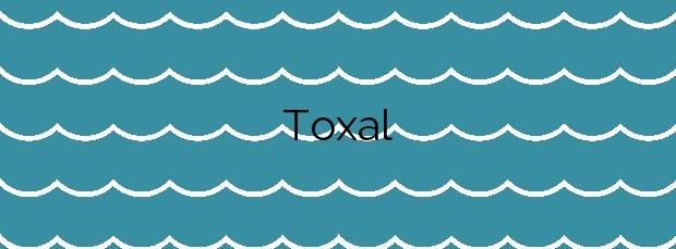 Información de la Playa Toxal en A Pobra do Caramiñal