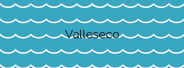 Información de la Playa Valleseco en Santa Cruz de Tenerife